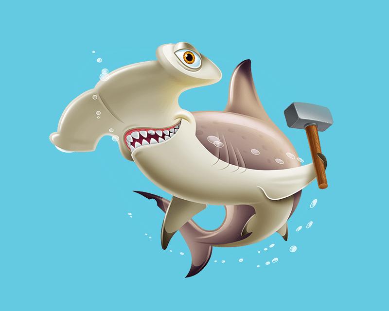 Hammerhead-Shark_Hammer